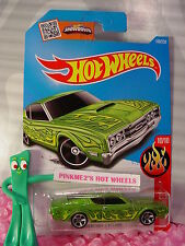 2016 i Hot Wheels '69 MERCURY CYCLONE  #100✰ Green;mc5✰Flames✰Case M/N