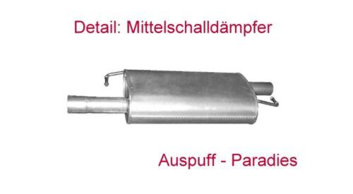 Fahrgestell Abgasanlage Auspuffanlage VW T5 1.9 TDi Doka Pritsche SWB +Kit
