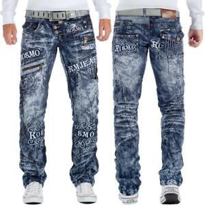 KOSMO-Lupo-Uomo-Jeans-verzeirung-BORCHIE-Zipper-streetwear-discoteca-STYLE-MODERN