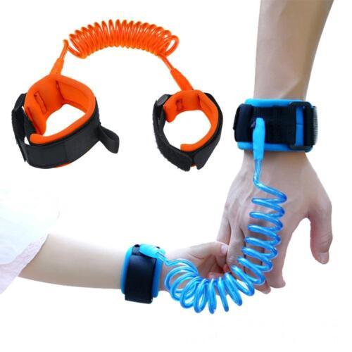 Kids Babys Safety Walking Harness Anti-lost Strap Wrist Leash Hand Belt CA RR