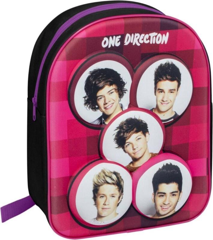 1d One Direction 3d Niños Niñas Mochila Escolar Vacaciones Viaje Bolsa Nueva