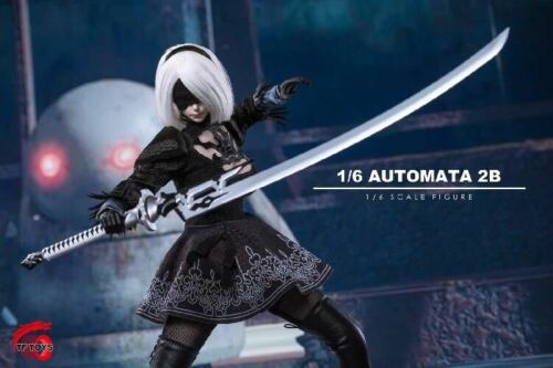 1//6 Nier Automata YoRHa No.2 Type B Head Clothing Set For S10D Collection