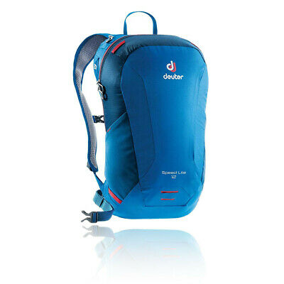 Deuter Unisex Speed Lite 12 Backpack Blue Sports Outdoors Breathable Reflective