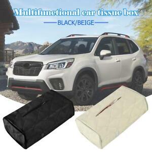 PU-Leather-Tissue-Box-Cover-Home-Table-Car-Napkin-Case-Holder-Storage-Organiser