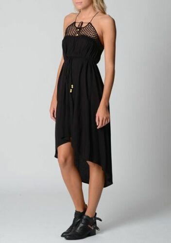 Quicksilver Ladies Paradise Found Summer Dress sizes XSmall Small Colour Black