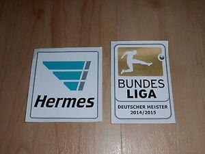 Fussball Patch Bundesliga Deutscher Meister 2014 Bayern Trikot Jersey Badge