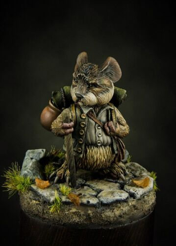 40 mm miniature Tail Brotherhood Samouse The Lord of the Rings resin kit