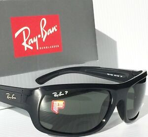 2f9dd4a732 NEW  Ray Ban RB 4166 POLARIZED Grey Lens in BLACK 63mm frame ...