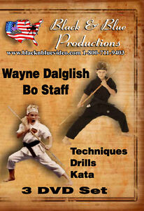 3-Wayne-Dalglish-Bo-Staff-Instructional-DVDs-Techniques-Drill-and-Kata