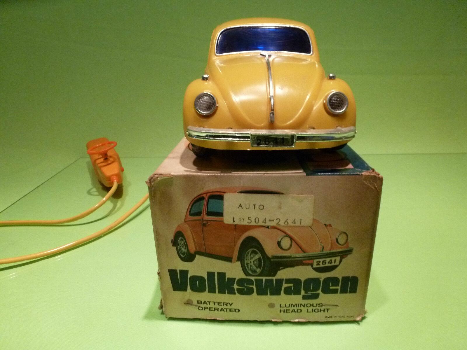 MADE IN HONG HONG HONG KONG 2641 VW VOLKSWAGEN - RC - RARE SELTEN - GOOD COND.IN BOX 825630