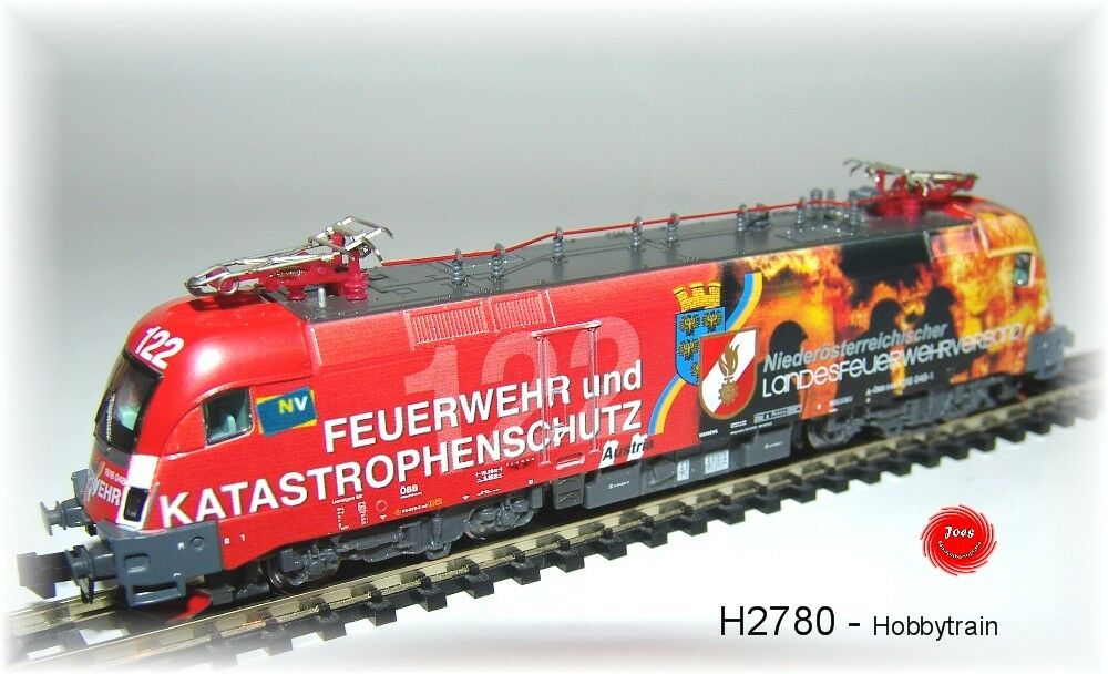 Hobbytrain 2780 Elektrolok serie 1016  Siemens Taurus es64f2   NUOVO IN SCATOLA ORIGINALE