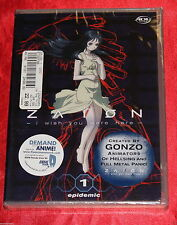 Zaion: I Wish You Were Here - Epidemic (DVD, 2003) Anime  Fantasy R1 BRAND NEW