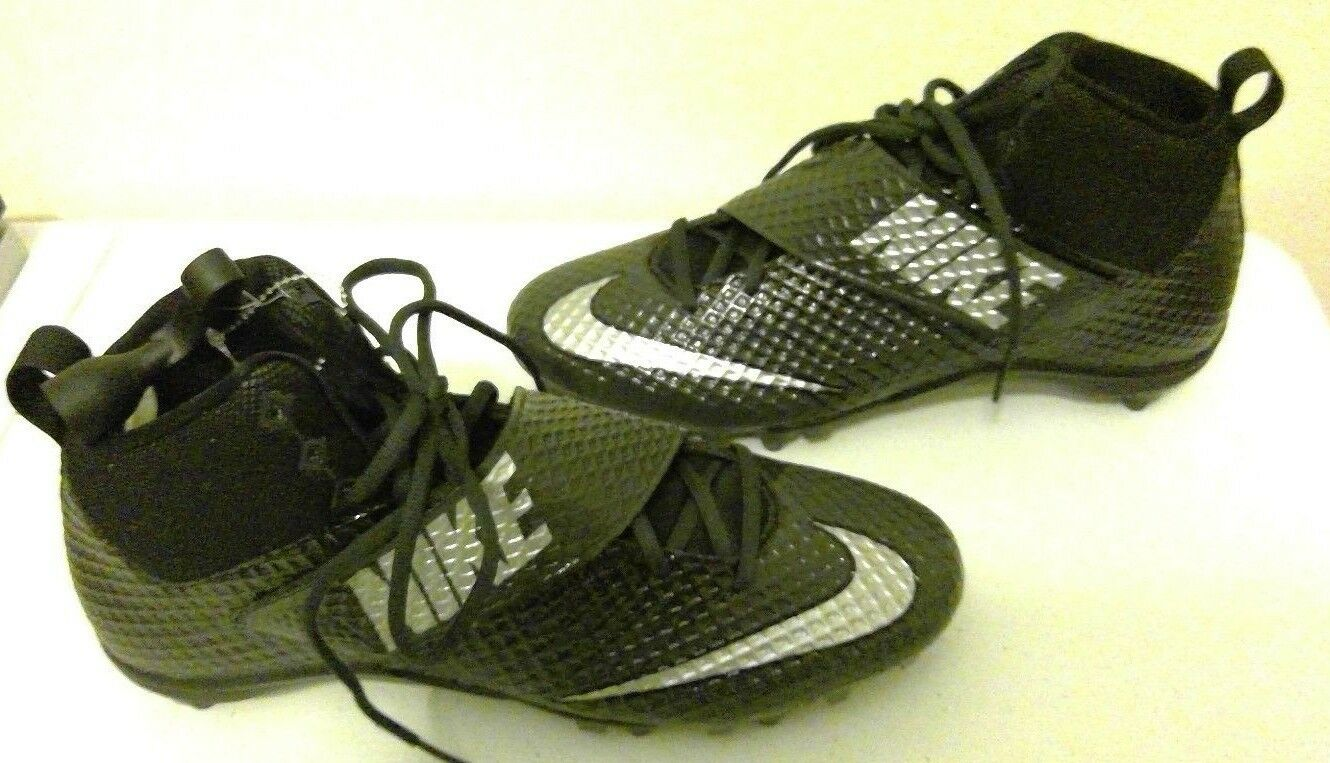 Nike Lunarbeast Strike Pro TD 3/4 Mid 839934-001 Mens Football Cleats Size 12