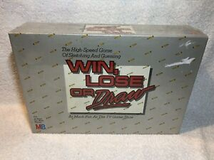Win-Lose-or-Draw-Board-Game-Disney-Milton-Bradley-1987-New-Sealed