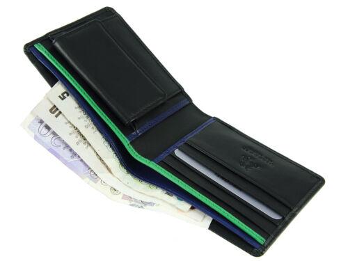 Visconti Bond sicura RFID morbido Portafoglio di Pelle per carte di credito banconote /& BD10
