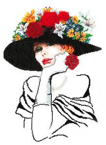 Cross Stitch kit Lady Sharm art. 83-02