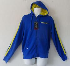 nwt~Ralph Lauren POLO SPORT ZIP UP FLEECE HOODIE Jacket Sweat Shirt Top~Men sz M
