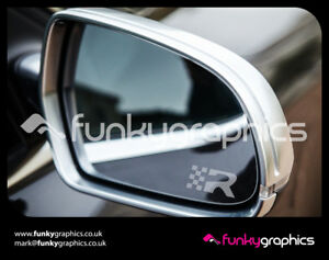 SEAT-LEON-CUPRA-R-LOGO-MIRROR-DECALS-STICKERS-GRAPHICS-DECALS-x3-SILVER-ETCH