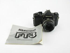 Nikon-Nikkormat-FT3-SLR-Nikkor-50mm-1-2mit-Anleitung-with-manual