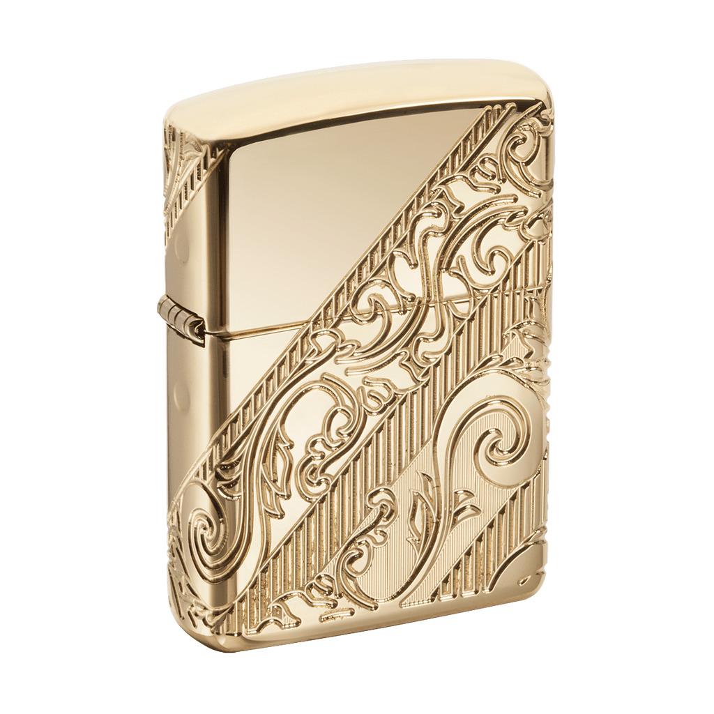 Zippo 2018 Collectible Of The Year, Gold Plated Golden Scroll, 29653, New In Box. Buy it now for 125.00
