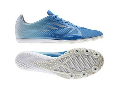 Adidas Q21573 Men's Adizero Ambition Track Blue & Field Running Spikes Blue Track NIB 78fdff
