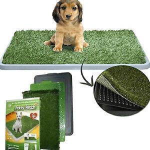 Lettiera-MAXI-cane-dog-toilette-WC-erba-sintetica-lavabile-assorbente-cucciolo
