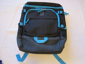 0ae58a7aa2f Image is loading Puma-backpack-PMAM1308-B-black-blue-back-pack-