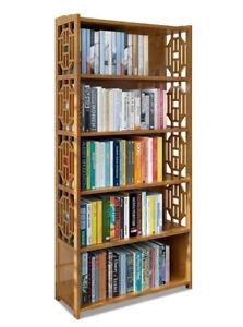 Bamboo-Antique-Style-Cabinet-Book-Shelf-storage-choice-fantastic
