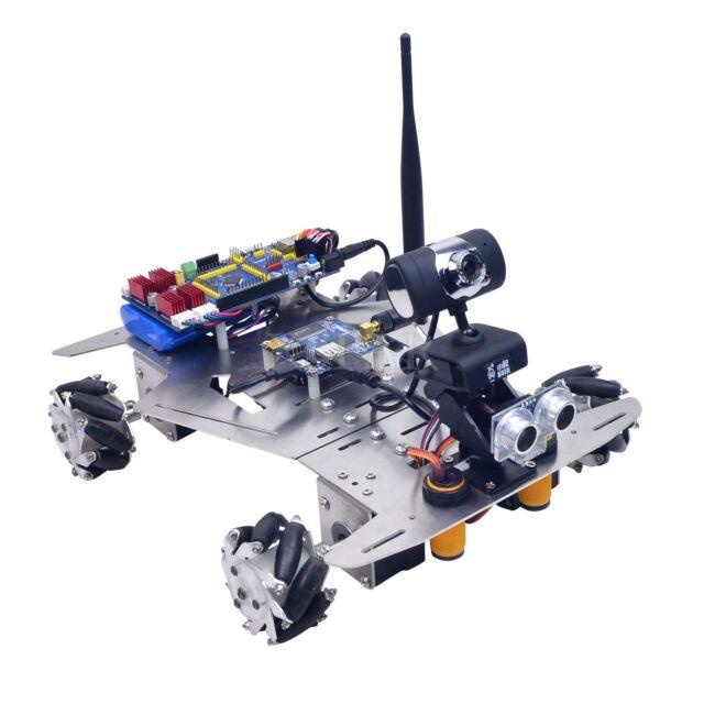 Smart Robot Car Kit Camera 640*480 Mecanum Wheels