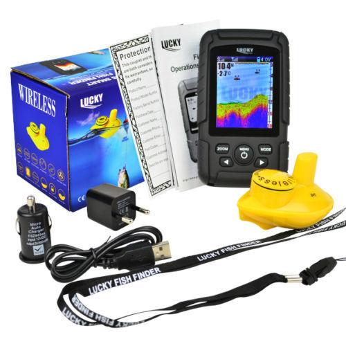 Coloreeeee Wireless Fish Finder  100 METRI RANGE, profondità, le caratteristiche, carpa, regalo gratuito