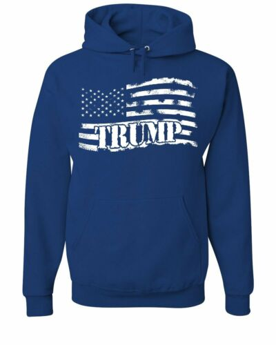 Donald Trump Flag MAGA Hoodie Make America Great Again Sweatshirt