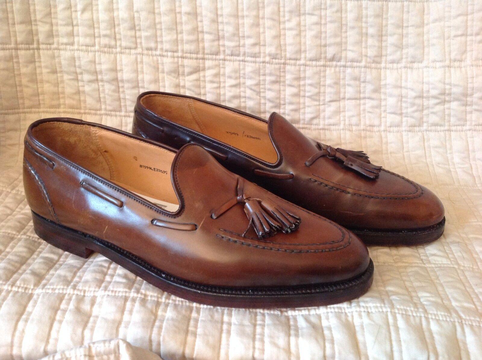 NEW Ralph Lauren Marlow Tassled shoes + 2 Dust Covers 10 D + 11.5 D