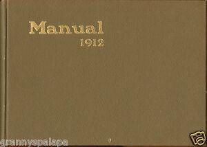 1912 Manual High School Yearbook - Denver, Colorado - Nice Condition