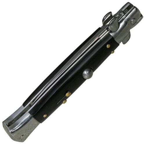 Haller Select Springmesser Sprogur Sicherung Pakkaholz-Griff 440 Stahl mit Box