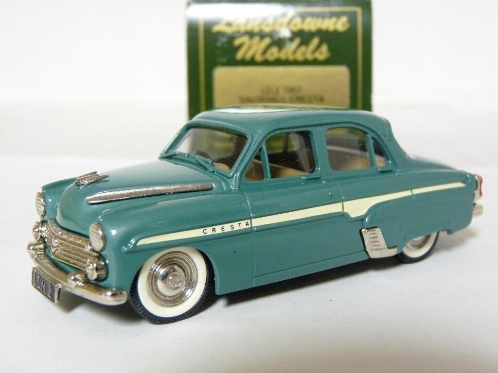 Lansdowne LD2 1 43 1957 Vauxhall Cresta E Handmade White Metal Model Car