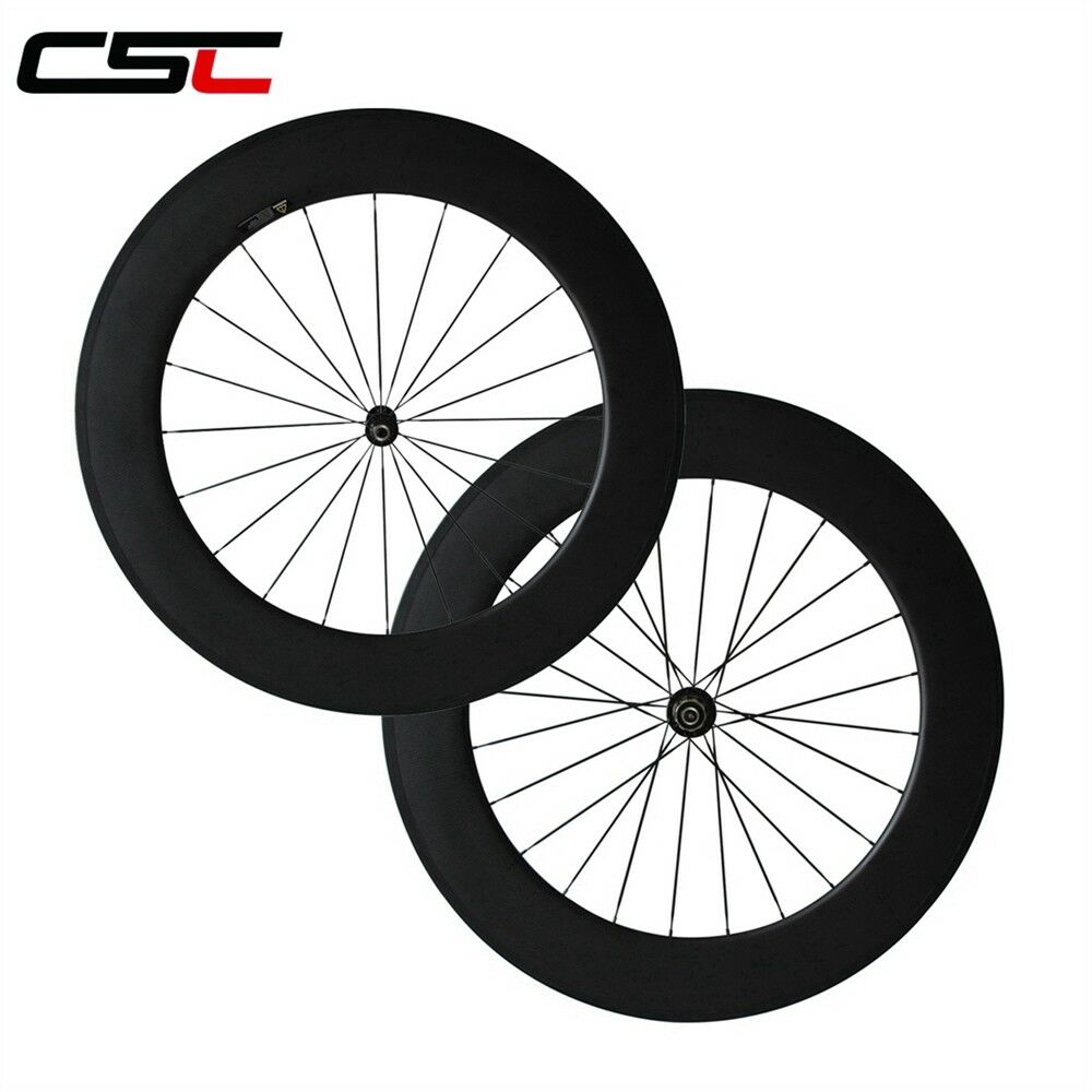 1690g only Super Light 88mm Clincher Carbon road wheelset Novatec A291SB F482-SL