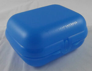 Tupperware-Grosse-Twindose-Twin-Dose-Pausendose-Box-Hellblau-Blau-Neu-OVP