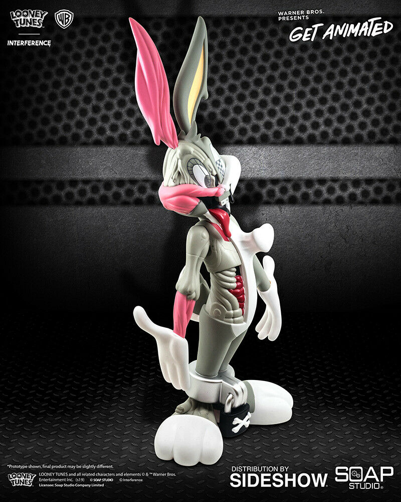 Looney Tunes Bugs Bunny WB Get Animated Vinyl Figure Pat Lee Soap Studio ToyQube