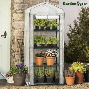 Image Is Loading Garden Grow Portable 4 Tier Mini Greenhouse Waterproof