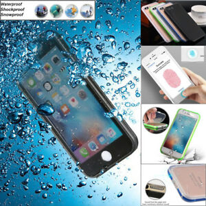 Waterproof ShockProof Dirt Proof Case Full Access Cover For iPhone X 7 8 Plus XS