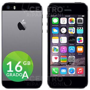 Dettagli su APPLE IPHONE 5S 16 GB NERO GRIGIO SIDERALE SPACE GRAY CON  ACCESSORI E GARANZIA