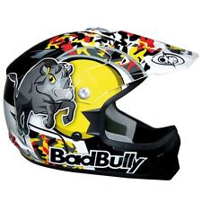 CASCO HELMET MOTO CROSS JUNIOR BAMBINO ONE ROSSO RED BAD BULL TG YS 48