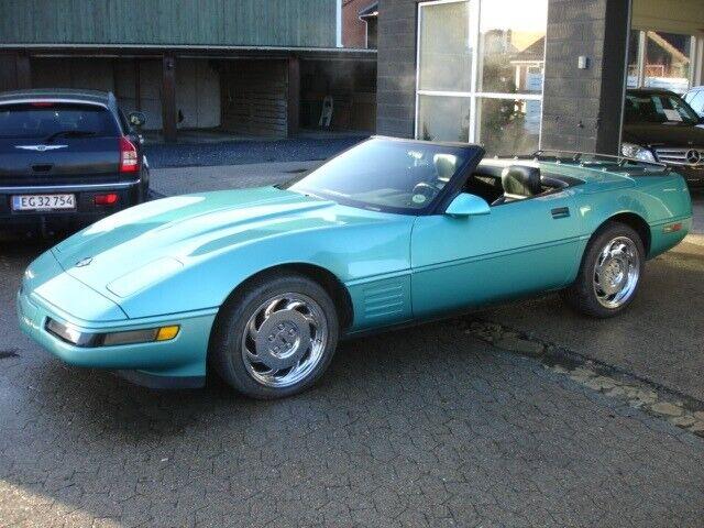Chevrolet Corvette 5,7 Cabriolet aut. Benzin aut.