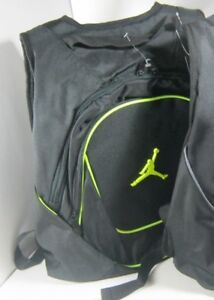 Nike Air Jordan Jumpman Laptop School Gym Hiking Backpack Black New ... 58a23e997705e