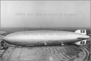 "The Hindenburg Lakehurst New Jersey 8.5 x 11/""  Photo Print"
