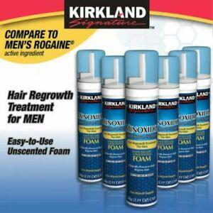 KirklandMinoxidil 5%Hair Regrowth Foam 6Mons Supply Same Business Day Shipping