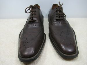 ZARA BROWN LEATHER UPPER SIZE US 7 EUR 40 MADE IN PORTUGAL