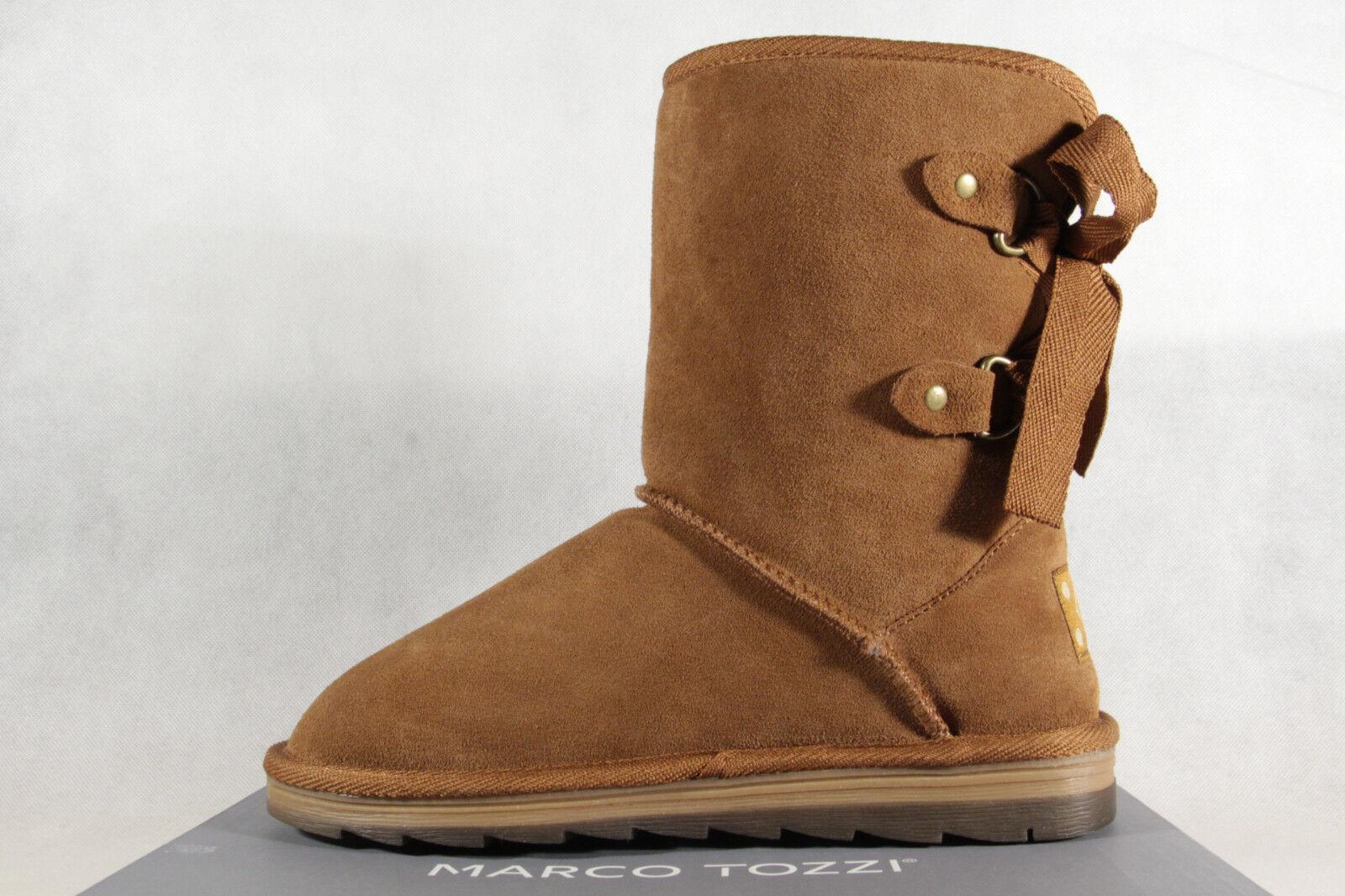 Marco Tozzi Stiefel Stiefelette Boots Winterstiefel braun 26823 NEU!!