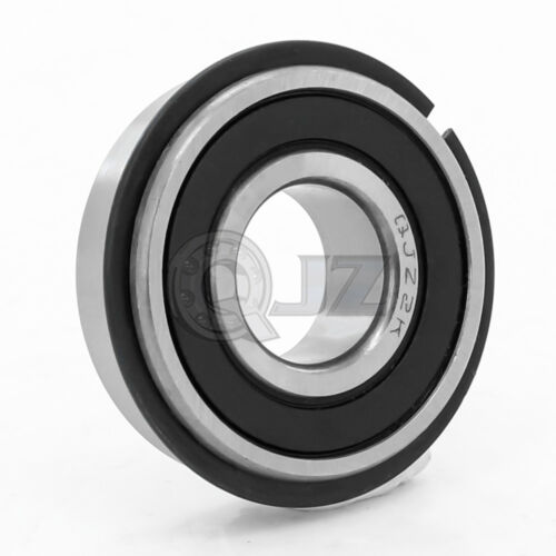 1x 6306-2RS Ball Bearing 30mm x 72mm x 19mm Rubber Sealed RS 2RS  w// Snap Ring