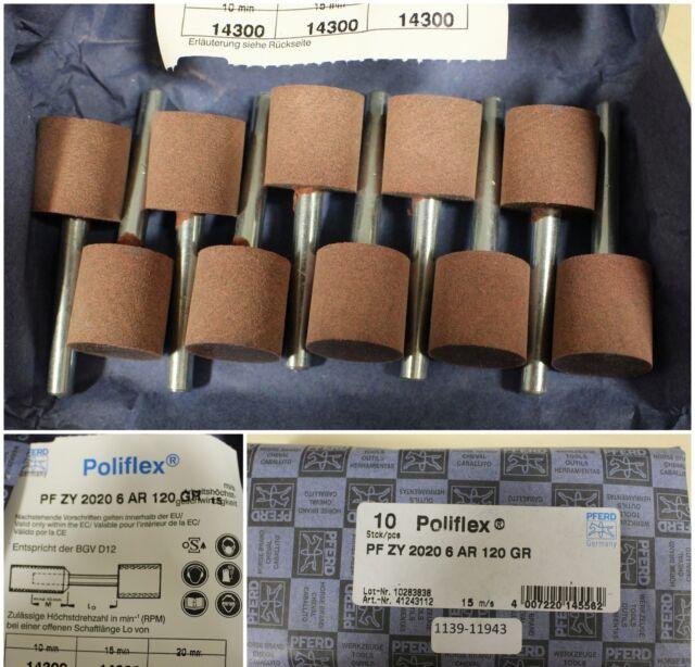 PFERD Poliflex Feinschleifstift PF ZY 2020/6 AR 120 GR-Art.Nr. 41243112-10 Stk.